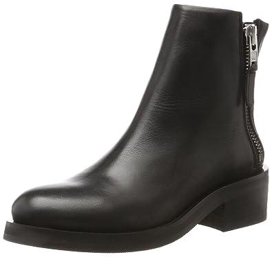 Prime Wrinkle Boot, Bottines Femme, Schwarz (Black), 36 EURoyal Republiq