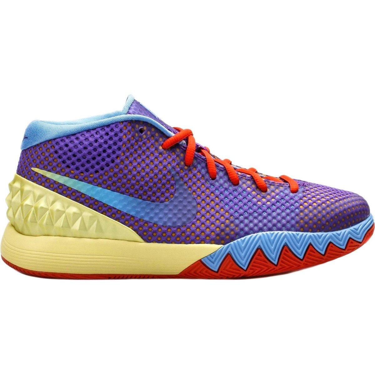 f014078b416 Galleon - Nike Boys Kyrie 1 Easter Egg Basketball Shoes Lemon Frost Hyper  Grape 7Y