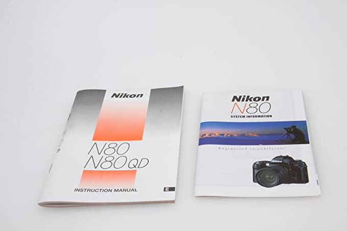 The pip expanded guide to the nikon f80/n80 (pip expanded guide.