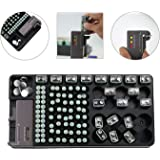 Range kleen wkt4162 82 battery organizer with removable tester battery organizer storage rack with a removable battery tester holds 120 batteries various sizes 120 solutioingenieria Images