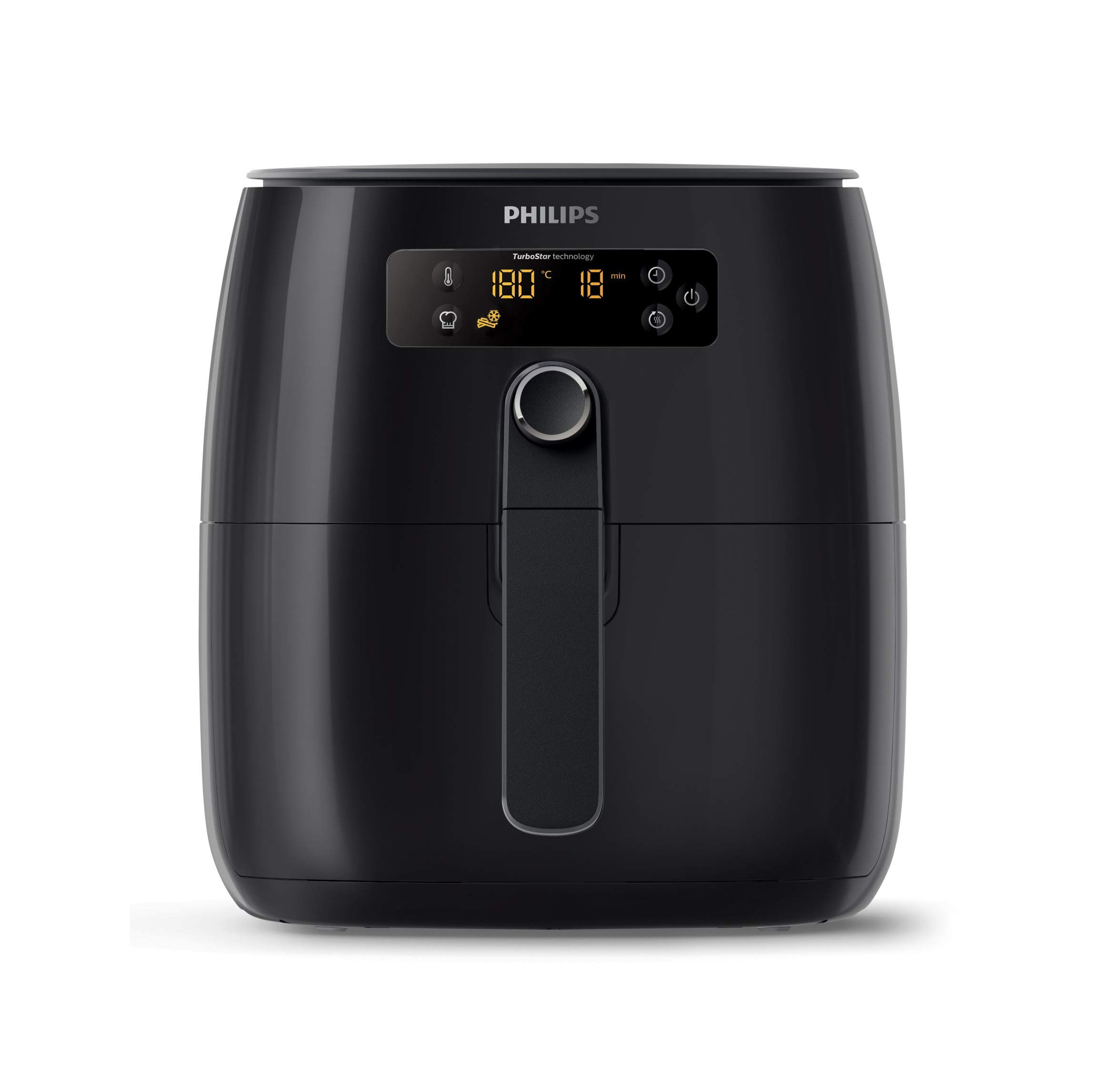 Philips TurboStar Technology Airfryer, Digital Interface, 1.8lb/2.75qt- HD9641/96 by PHILIPS