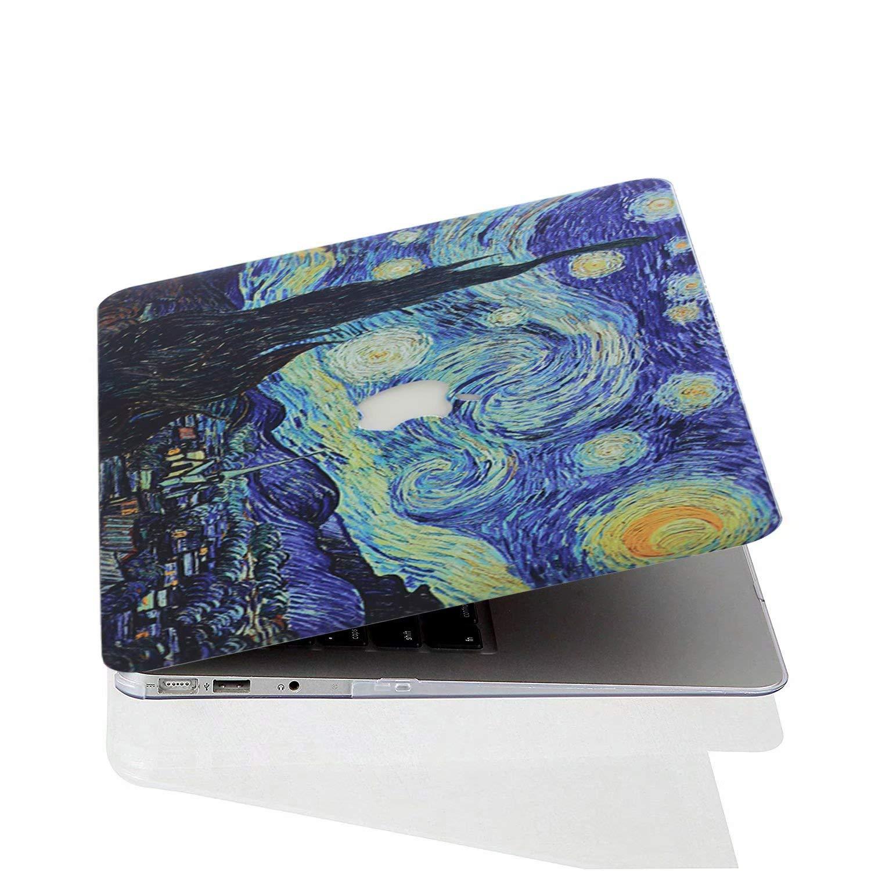AQYLQ Cover MacBook Air 13 2018 Custodia MacBook Air 13 Plastic Case Cover Copertina per 2018 MacBook Air 13.3 con Touch ID Modello: A1932 Star Dreams 37