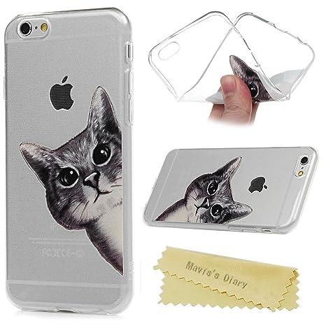 Maviss Diary Funda iPhone 6 Plus Carcasa Silicona Gel Goma ...