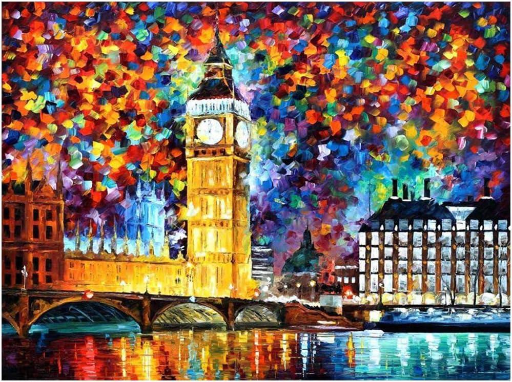 pintura por diamante cuadrados de 36x51 cm Londres