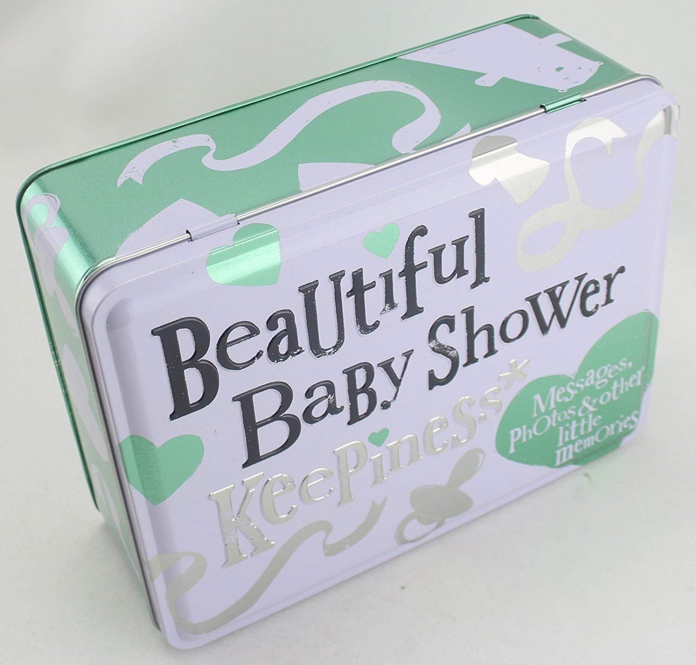 Bright Side Beautiful Baby Shower Storage and Keepsake Tin