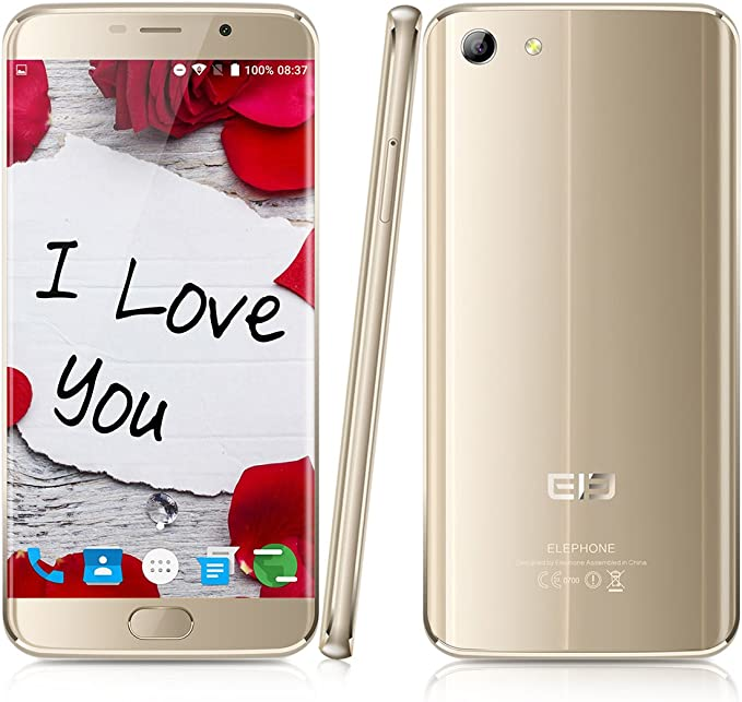 Elephone S7 - 64GB Smartphone libre 4G LTE (Android 6.0, Pantalla ...