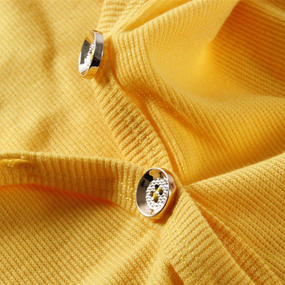 LittleSpring Little Boys V-Neck Cardigan Button Thin