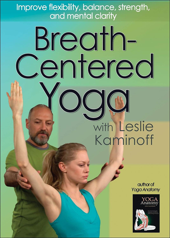 Amazon.com: Breath-Centered Yoga with Leslie Kaminoff ...