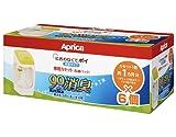 Aprica (アップリカ) 紙おむつ処理ポット におわなくてポイ 消臭タイプ 専用カセット 6個パック 09126 「消臭」・「抗菌」・「防臭」