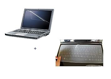SaiTech IT Combo Teclado de portátil de Pantalla/Teclado Piel – 15,4,