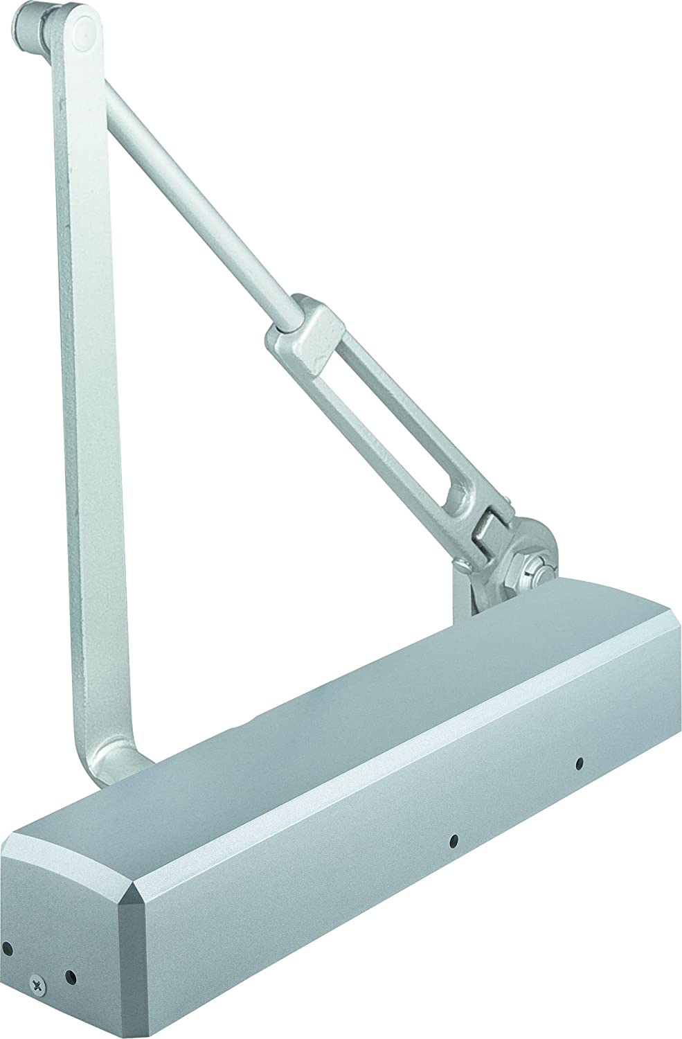 """STANLEY Commercial Hardware QDC212F689 Grade 1 Tri-Pack with Hold-Open Door Closer, Painted Aluminum, 2"""""""