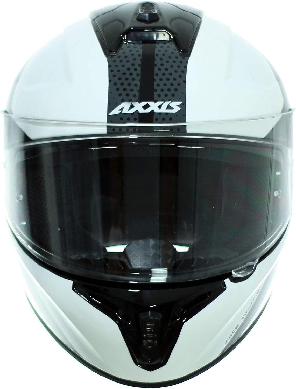 AXXIS CASCO DRAKEN X-ROAD B2 ROJO BRILLO TALLA S