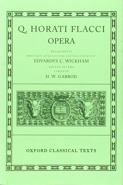 Opera (Oxford Classical Texts)