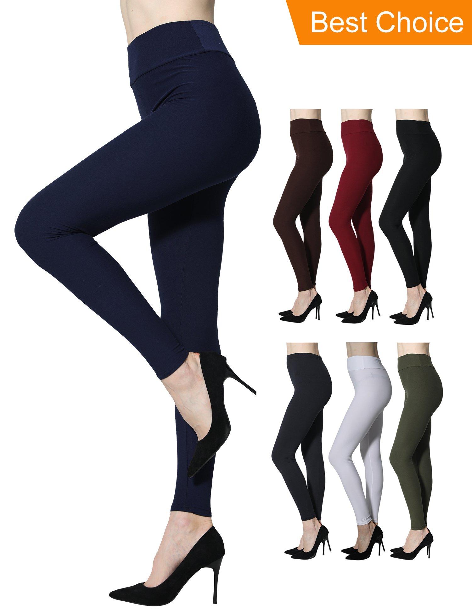 Diravo Women High Waist Leggings Soft
