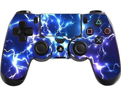 DOTBUY PS4 Controlador Diseñador Piel para Sony PlayStation 4 mando inalámbrico DualShock x 1 (Electric