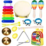 Toddler Musical Instruments Toys- Smarkids Premium Accurately Tuned Percussion Musical Instruments for Kids Children Educatio