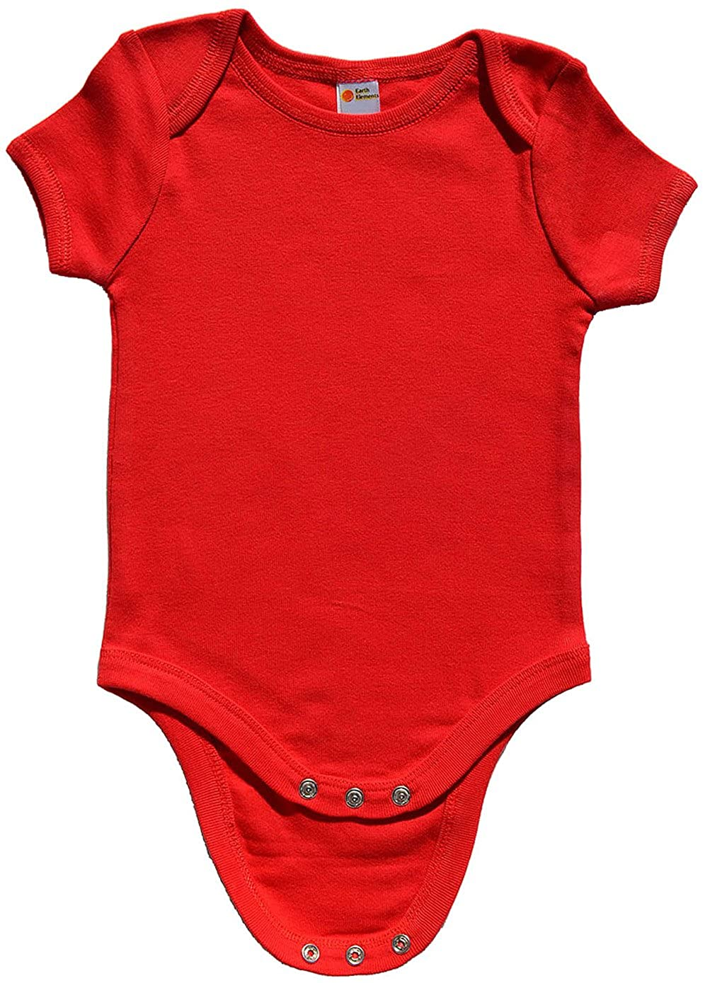 Earth Elements Baby Short Sleeve Bodysuit ABBABS0N1S-BL-03-$P