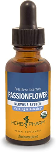 Herb Pharm Certified Organic Passionflower Liquid Extract
