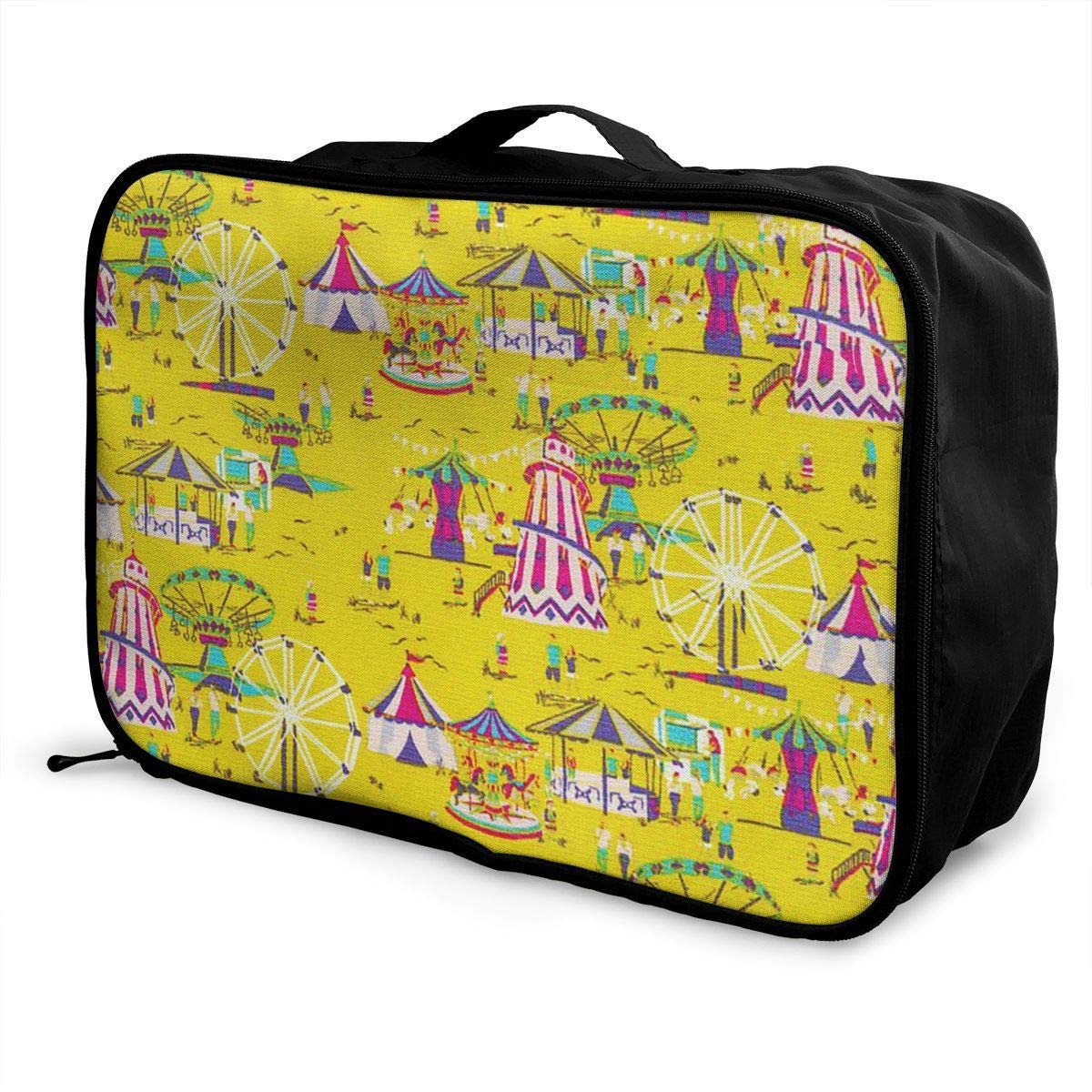 Portable Luggage Duffel Bag Circus Travel Bags Carry-on In Trolley Handle