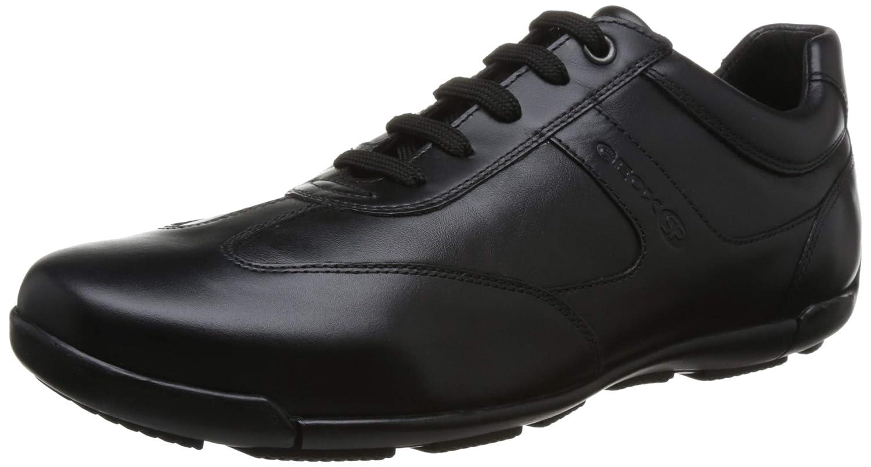 TALLA 42 EU. Geox EDGWARE U843BC Hombre Zapatillas,mínimo,varón Zapatilla de Deporte de Negocios,Calzado,Zapato con Cordones,Calzado de Calle,de Exterior,Calzado Deportivo y Casual,de Ocio