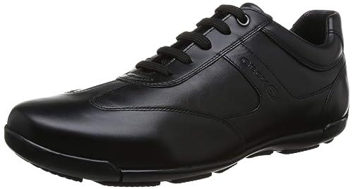 Geox EDGWARE U843BC Homme Baskets Mode,Faible,Gars Sneaker d'affaires,Chaussure Basse,Chaussure de Ville,Chaussure Sportive et Décontractée