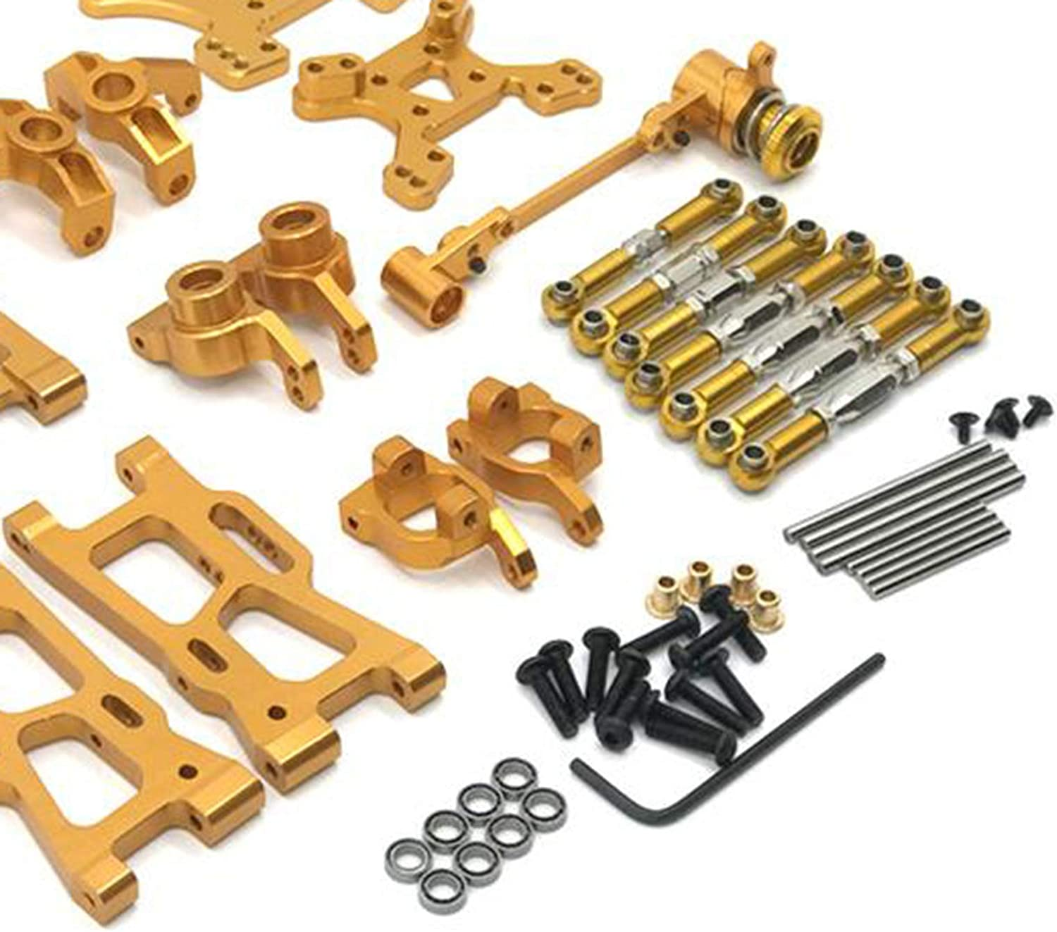 Full Metal Upgrades Parts Fit for WLtoys 144001 124019 RC Car Bearings