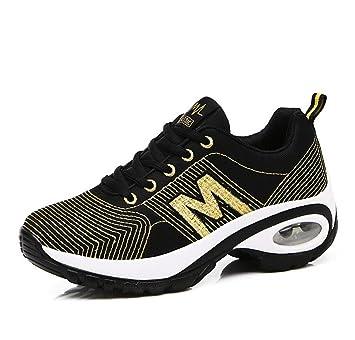 DANDANJIE Zapatos de bicicleta de montaña para mujeres Zapatos casuales Zapatos de senderismo Vestidos elásticos Desempeño Ocio Deportes Senderismo con ...