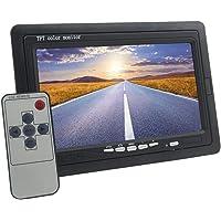 MONITEUR 7pouces TFT LCD à couleurs avec télécommande pour voiture caravane maison