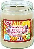Pet Odor Exterminator Candle, Sandalwood,13 oz