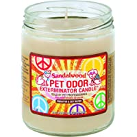 Pet Odor Exterminator Candle, Sandalwood,13 oz