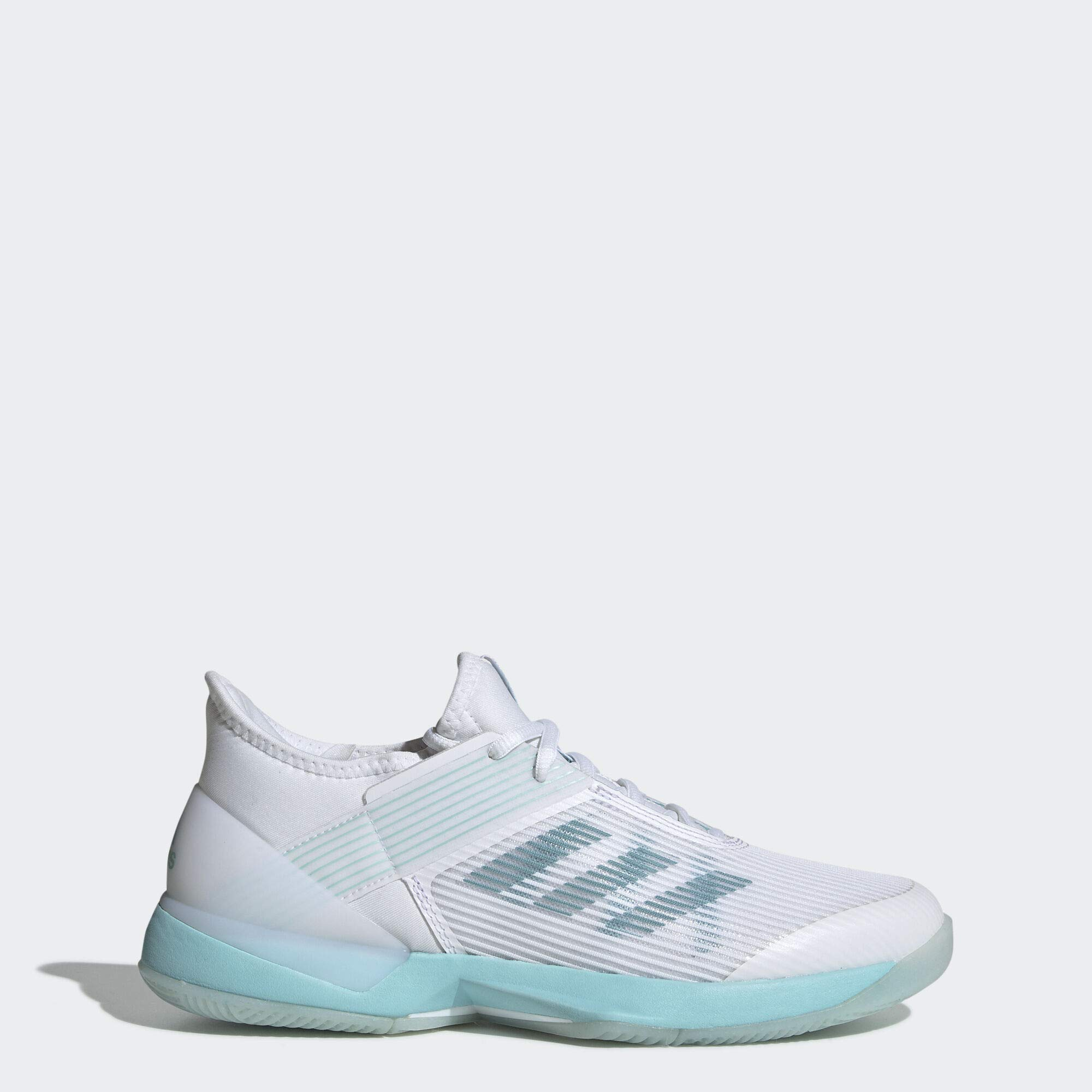 adidas Women's Adizero Ubersonic 3, Blue Spirit White, 9 M US by adidas