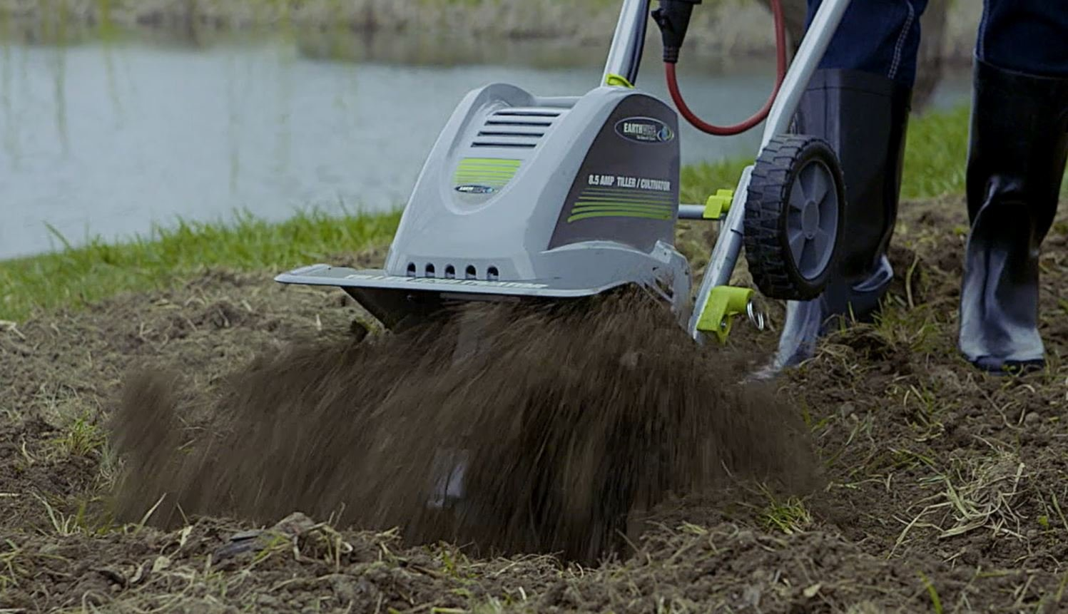 Earthwise TC70001 11-Inch 8.5-Amp Corded Electric Tiller/Cultivator by Earthwise (Image #7)