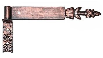 16 mm Kloben Kupfer Schmiedeeisen. Ladenband Türband Türbänder Torbänder 600