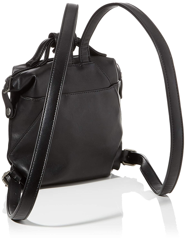 Fritzi av preussen dam Petit Harper ryggsäck, 17 x 21 x 8 cm Svart (Black)