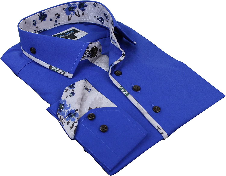 BC Footwear Camisa Cachemir Floral Caballero Diseno Ajustado ...