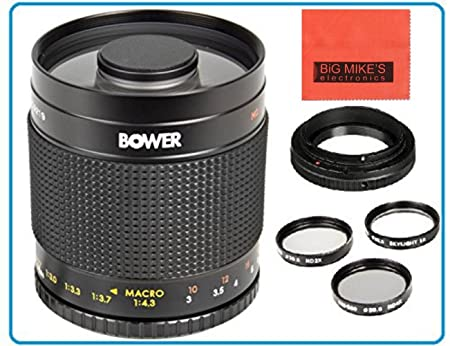 Review Bower 500mm f/8 Telephoto