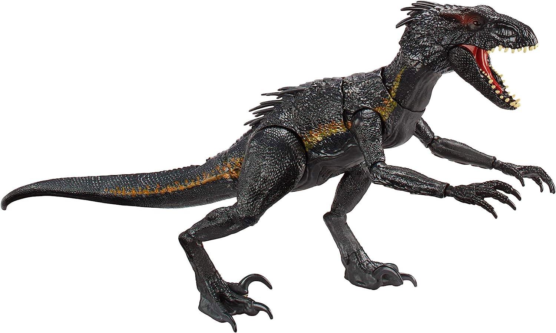 Mattel-Jurassic World Villain Dino-indoraptor méchant Dino dinosaure
