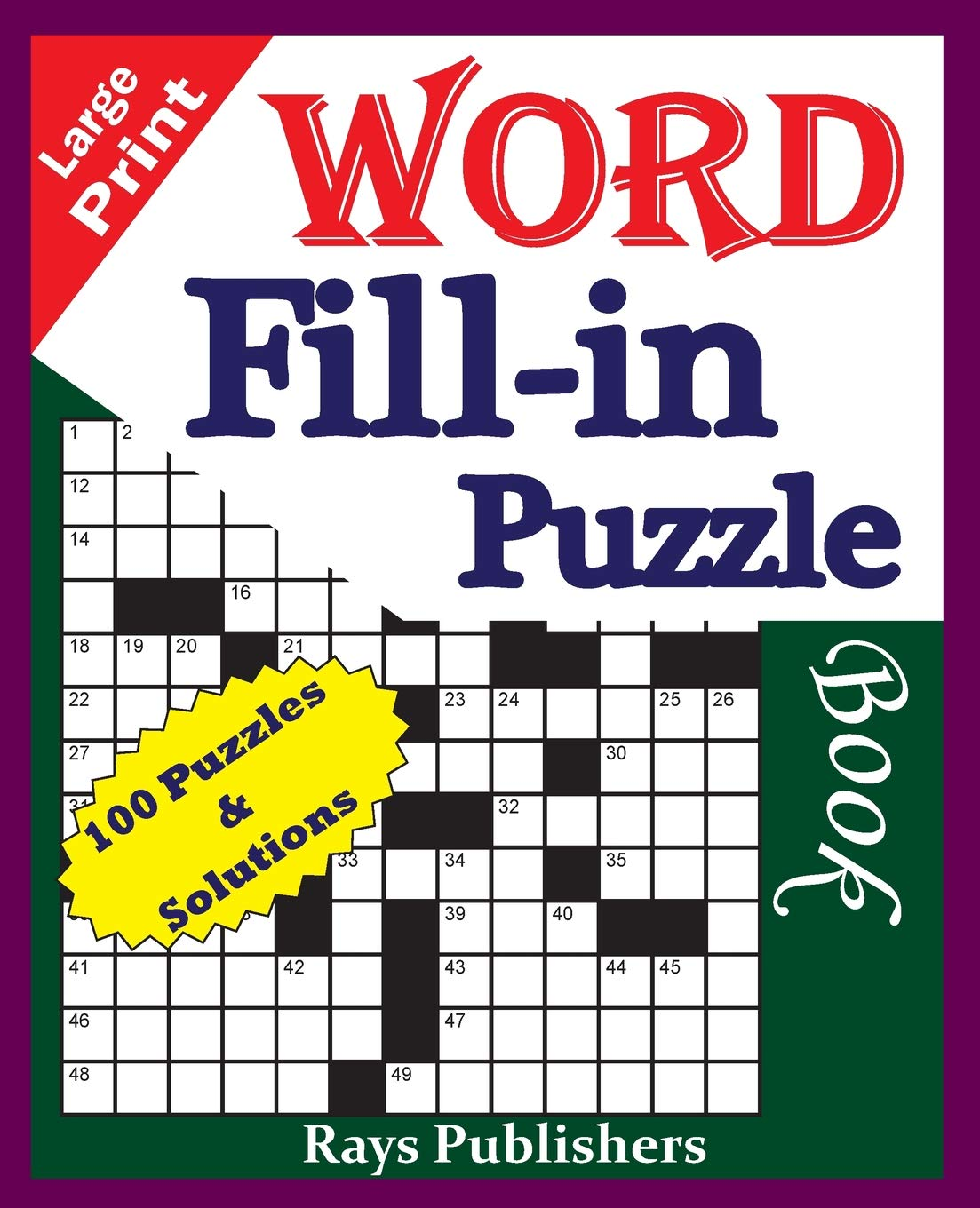 This is an image of Printable Word Fill in Puzzles inside nine letter printable