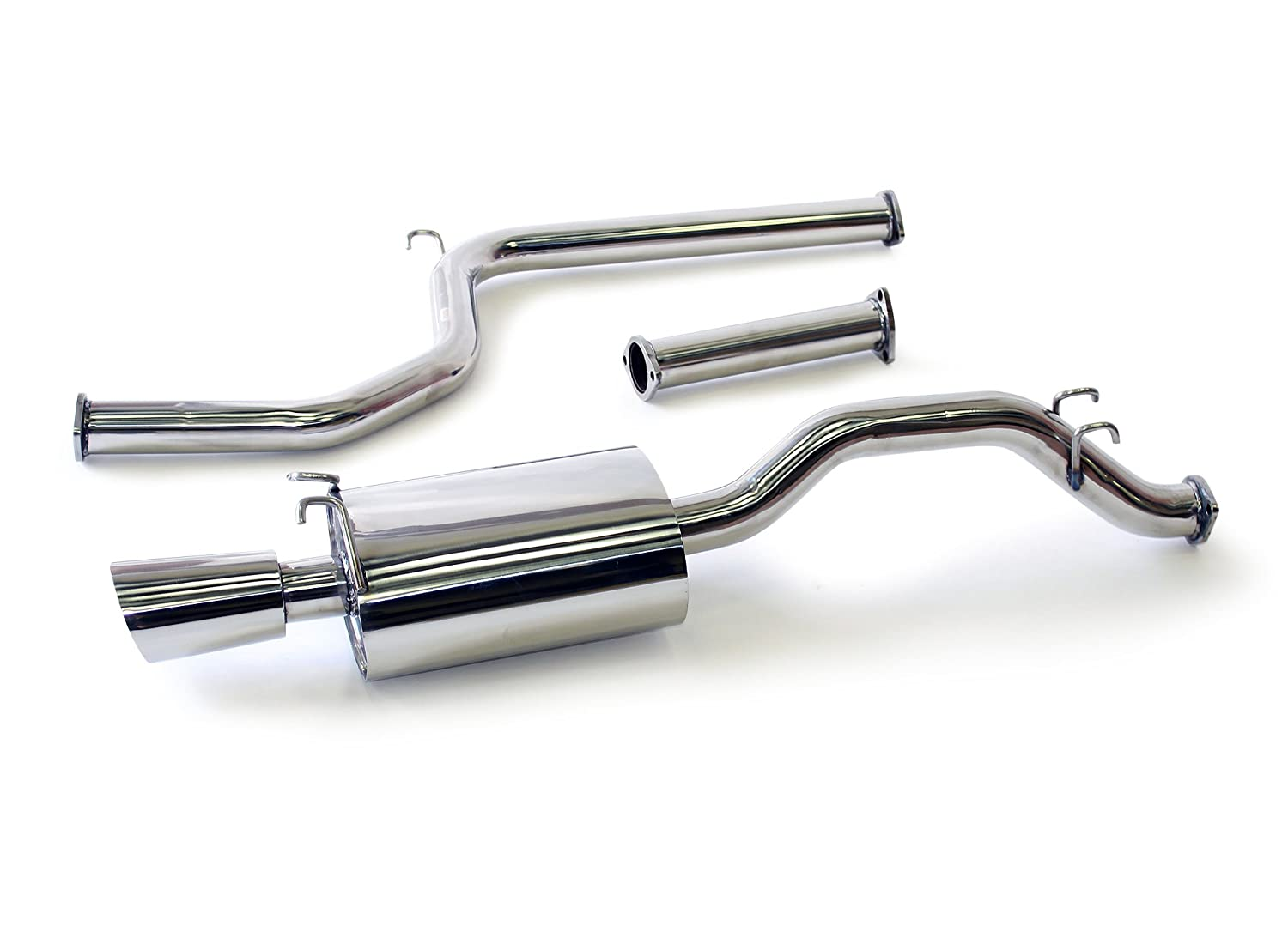 2.0L Si Only Yonaka Honda Civic 2006-2011 2DR Coupe 2.5 Performance Catback Exhaust