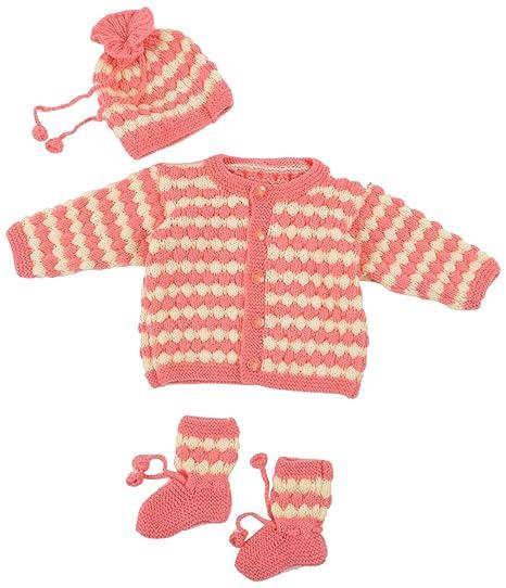 80f9484c8 Kuchipoo Unisex Hand Knitted Woollen Clothing Set (KUC-SUT ...
