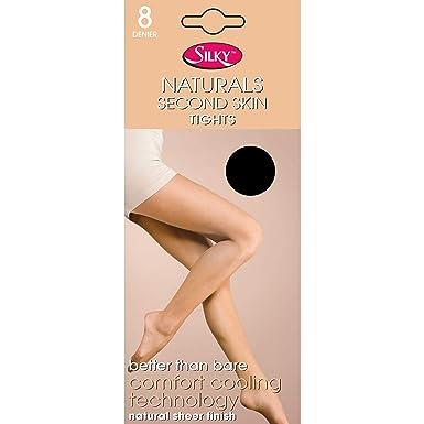 meilleur authentique couleur n brillante beauté Silky Naturals - Collants Seconde Peau (1 Paire) - Femme ...