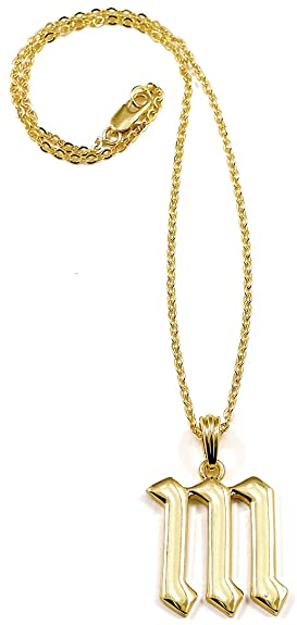 Amazon letter initial m pendant necklace gold color miley amazon letter initial m pendant necklace gold color miley miley cyrus necklace jewelry aloadofball Image collections