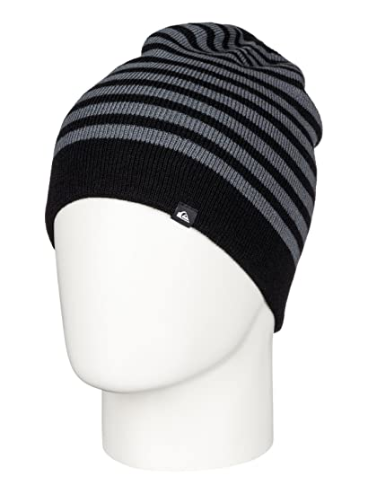 Amazon.com  Quiksilver Boys Preference - Beanie Beanie Black One ... 915eb531738e