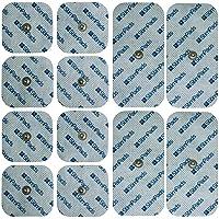 Stimpads Tens Elektroden Pads - Compex elektroden pads alternatief - Tens Pads - Single en Dual Snap lijm elektroden…