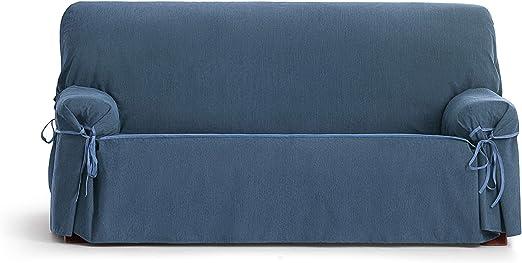 Eysa Loira Protect Funda de sofá, 65% Poliester 35% algodón, 0/Azul, 3 plazas: Amazon.es: Hogar