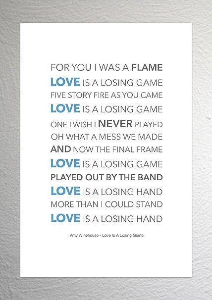 Losing the one you love lyrics