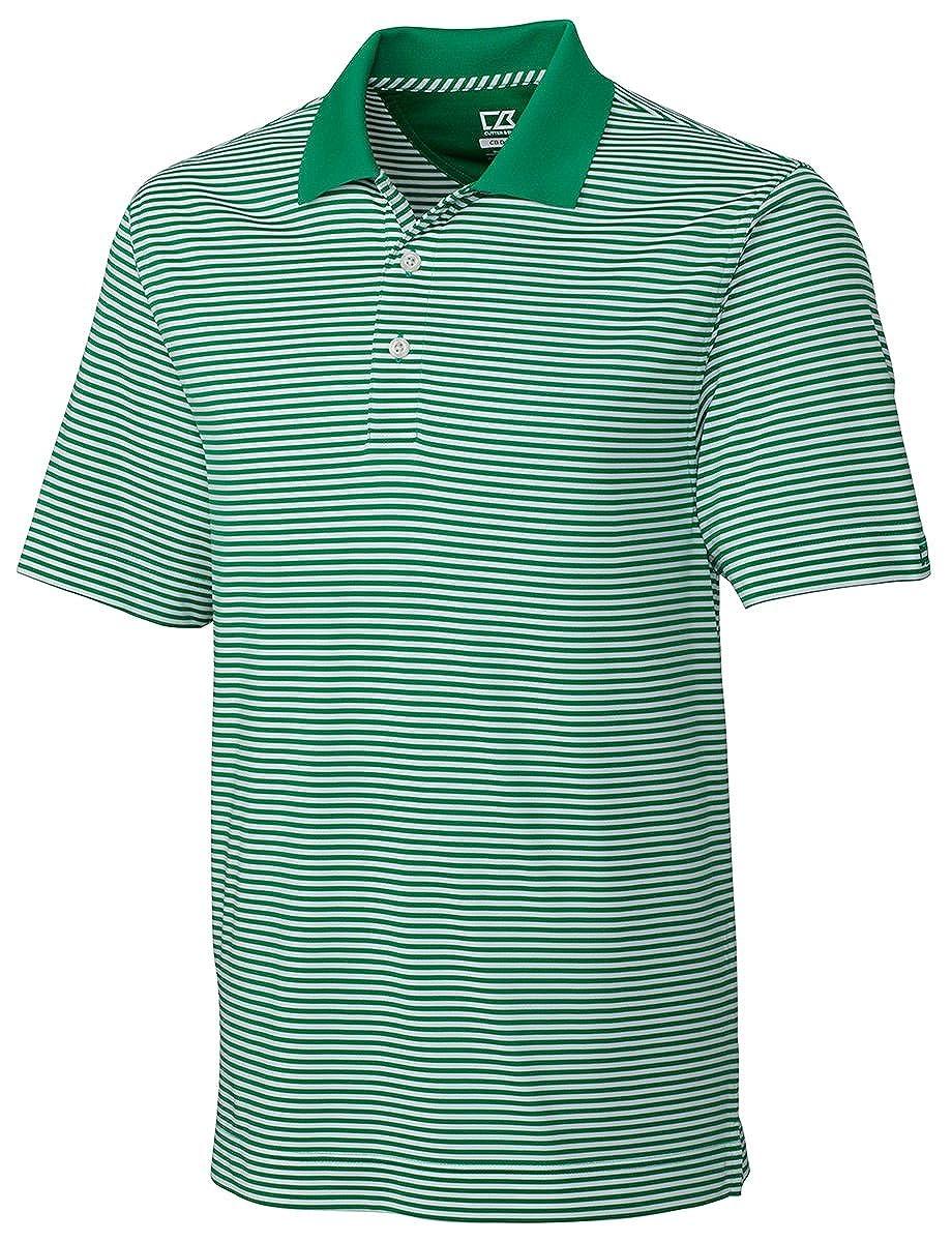 37128a86aa2 Cutter   Buck Men s Big-Tall Cb Drytec Trevor Stripe Polo Shirt BCK00332