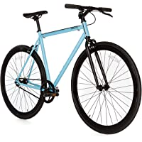 Moma Bikes Vélo Fixie à pignon fixe une vitesse