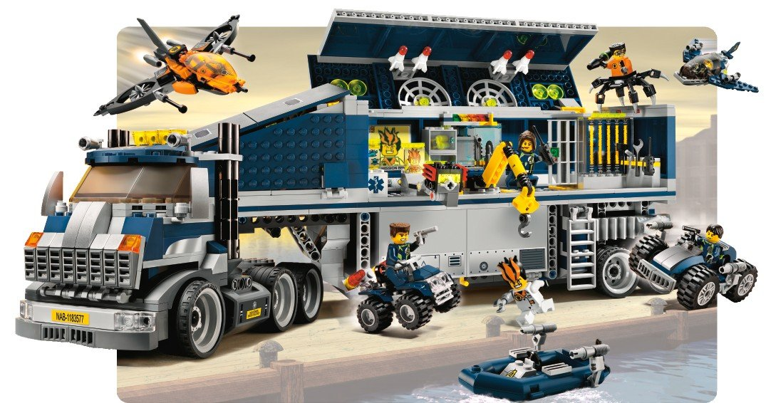 Amazon Lego Agents Mobile Command Center Toys Games