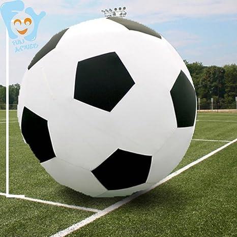 Aodicon Pelota Hinchable de Fútbol Gigante de 200 cm, Juguetes ...